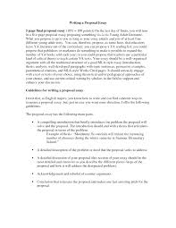 good proposal essay topics
