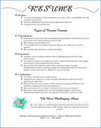 Different Types Of Skills For Resumes Different Types Of Resumes Examples Under Fontanacountryinn Com