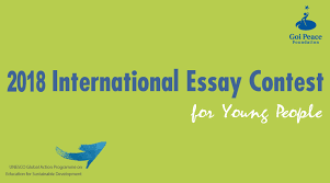 goi peace foundation international essay contest for young  2018 goi peace foundation international essay contest for young people win cash prizes and a