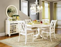 chandelier over dining table elegant image of dining room design with round white dining table fancy