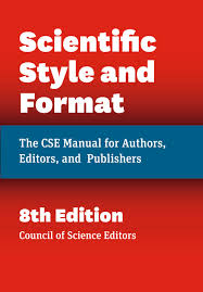 Scientific Style And Format The Cse Manual For Authors Editors