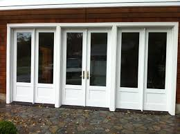Brilliant French Glass Garage Doors Wooden Exterior Door Cool Elegant Nuance Of The And Decor