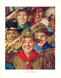 an army of friendship norman rockwell