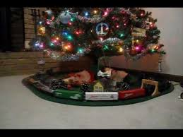 amazing train for under christmas tree tle