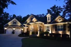 Exterior And Landscape Lighting Designer Macon Lawnworks - Exterior residential lighting