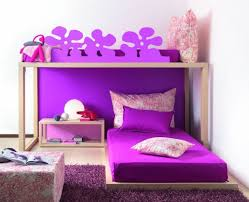 bedroom designs for girls with bunk beds.  Bedroom Decoration And Design For Girls Bunk Bedroom Ideas  Purple Color Scheme  In Designs With Beds