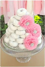 a cute and simple baby shower cake