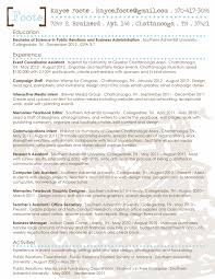 Double Major Resume Modern Day Photograph Resume 4 100 Public