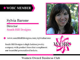 South Hill Designs Consultant Wobc Member Sylvia Barone Director South Hill Designs