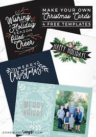 free christmas cards to make make your own photo christmas cards for free somewhat simple