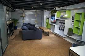 Simple Finished Basement Ideas Simple Basement Designs Finish