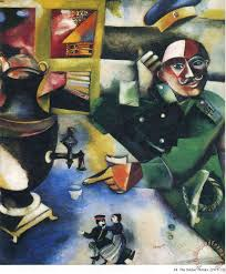 the solr drinks 1912 painting marc chagall the solr drinks 1912 art print