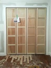 bifold closet door ideas updating closet doors