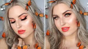 erfly fairy costume makeup glamorous orange neutral eyeshadow you