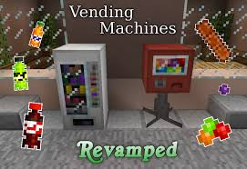 Vending Machine Minecraft Cool Vending Machines Revamped Mod By AziasCreations On DeviantArt
