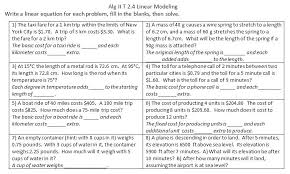 converting word problems to equations free collection of slope intercept word problems worksheet translating math word