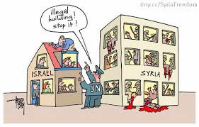 U.N., Israel and Syria hypocrisy
