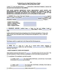 Month To Month Lease Agreement Example Free Florida MonthToMonth Lease Agreement Pdf Word Doc 8