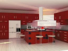 Red And Gold Kitchen Kitchen Designs L Shaped Modular Kitchen Design Modular Kitchen L