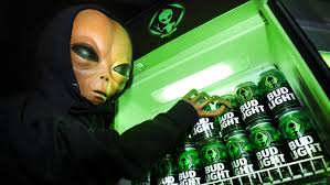 Bud Light Aluminum Bottles 20 Pack Price Bud Light Produces Special Edition Alien Themed Cans