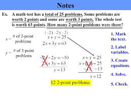 system of equations word problems solver tessshlo