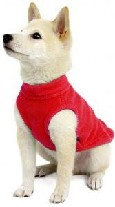 Gooby Size Chart Gooby Stretch Fleece Pull Over Cold Weather Dog Vest Red Medium
