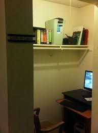 walk in closet office. Fine Office Home Office Out Of A Walkin Closet To Walk In Closet Office C