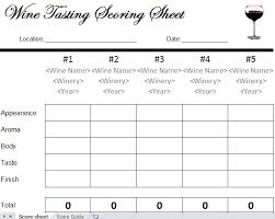 wine rating sheet wine tasting sheet pdf parlo buenacocina co