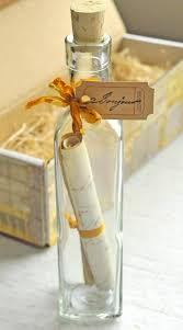 letter in a bottle bonjour message in a bottle diy a giveaway bonjour messages