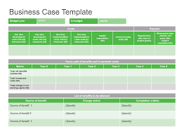 It Project Business Case Template Excel Business Case Template Free Online Xymetri 3