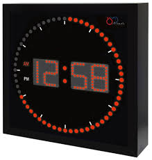 Digital Time Clock For Lighting Buy Dbtech Time Sphere Stylish Big Digital Led Clock With