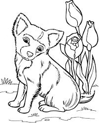 Kleurplaat Honden 8870 Kleurplaten Cute Dog Pictures To Print And
