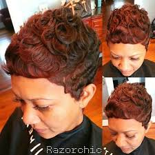 african american women short hairstyles curly pixie cut