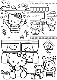 140 Dessins De Coloriage Hello Kitty Imprimer