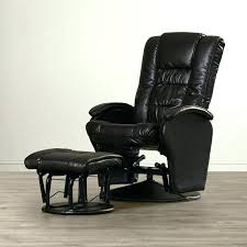 leather glider recliner with ottoman black rocker swivel stuff reviews home improvement winsome swiv rocker recliner with ottoman reclining glider