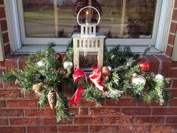 Christmas Window Box Decorations Outdoor Christmas Window Ideas Day Dreaming And Decor Outdoor 12