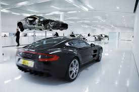Aston Martin Shows Off Production Process Of One Supercar In