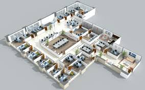 Office Design Plan 3d Interior Design Jmj Interiors