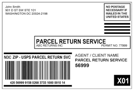 usps barcode format 505 return services