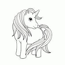 Leuk Voor Kids Eenhoorns Kleurplaten Unicorn Paard Kleurplaat