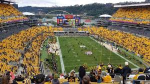 Pittsburgh Heinz Field Seating Chart Heinz Field Section 520 Home Of Pittsburgh Steelers