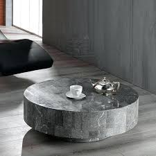 rondo round sculptured coffee table by stones throughout stone inspirations 12 stone coffee table round white