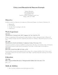 Resume For Entry Level It Position. Entry Level Sales Resume Sample ...