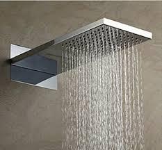Oruro Chrome Finish Shower Panel Set ...