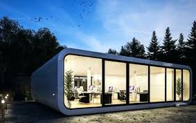 prefab garden office. Outdoor Office Pod The By A Prefab Builder In Is Compact Portable Unit That Can Garden