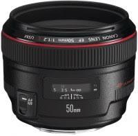 <b>Canon EF 50mm</b> f/1.2L USM (1257B005) – купить <b>объектив</b> ...