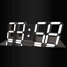GooDay 3D LED Digital Clock Modern Design Multi ... - Amazon.com