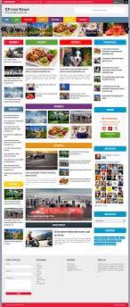 Xpress News Blogger Template Blogger Templates 2018