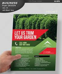 lawn care advertising templates landscaping flyers to make and print forfree look bookeyes co