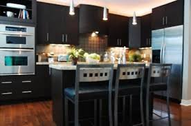 What Color To Paint Kitchen With Dark Cabinets Simple Inspiration Design